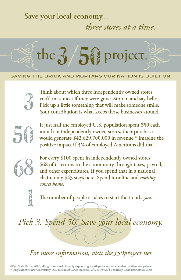 What is the 3/50 Project?
